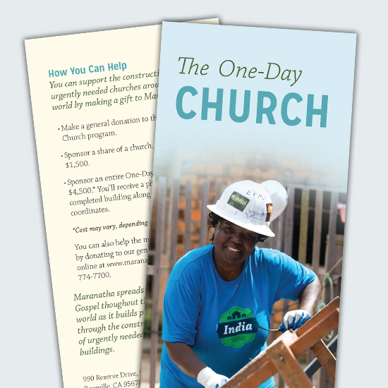 One day church brochure maranatha one day church brochure thecheapjerseys Gallery