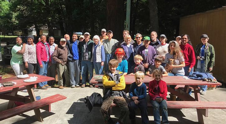 Redwood Area Camp (CA) Project - Maranatha